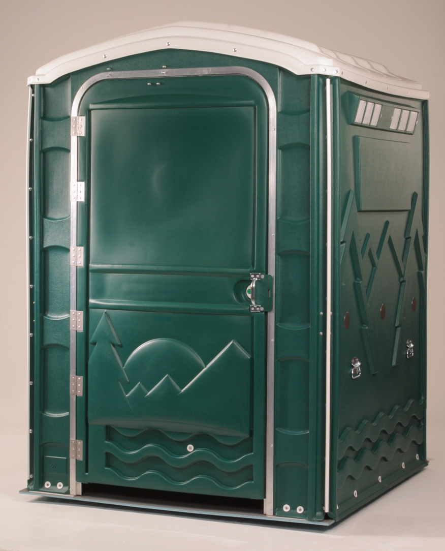 SPECIAL NEEDS PORTABLE RESTROOM - OUTSIDE VIEW